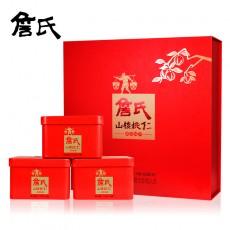 安徽特产山核桃仁 经典红礼盒礼品(内含120g*4小罐)